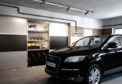 Szafa w garażu Tychy